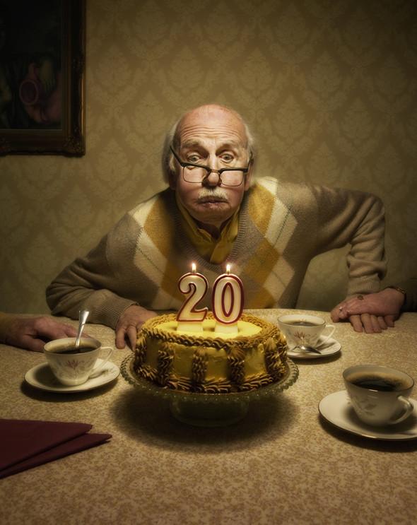 Картинки для, смешные картинки для дня рождения стариков