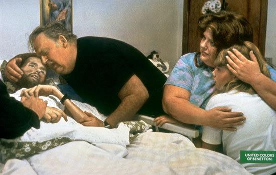 3 Изображение умирающего от СПИДа Дэвида Кирби