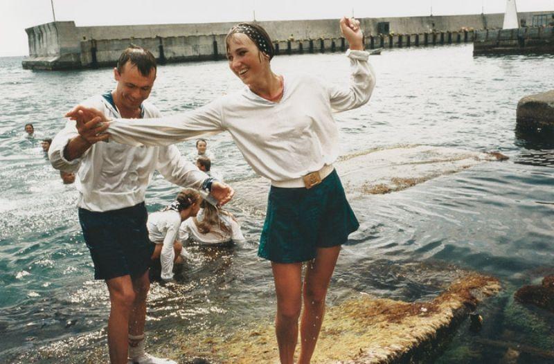 5 Сергей и Лена, 1994 год.