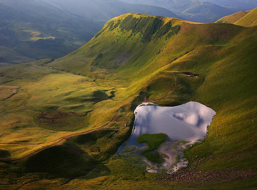Озеро на Свидовецком хребте