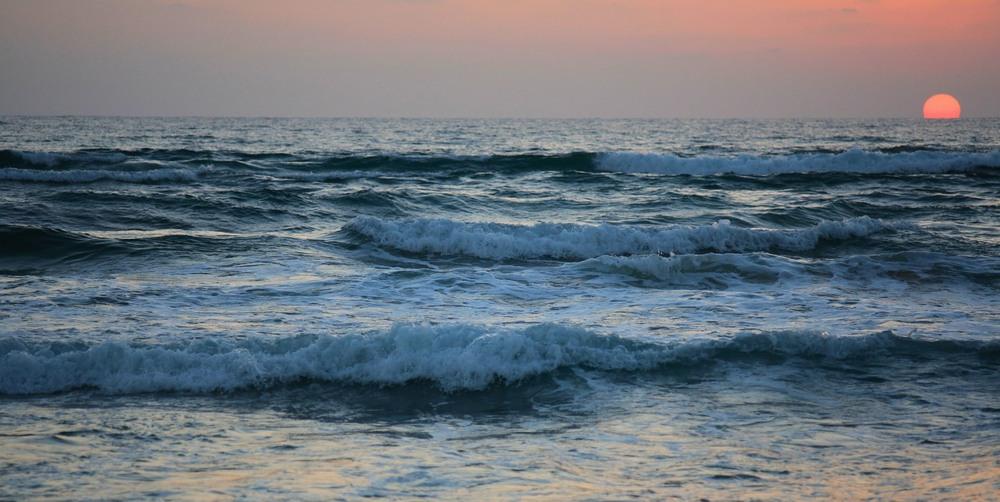 фото моря вечернего