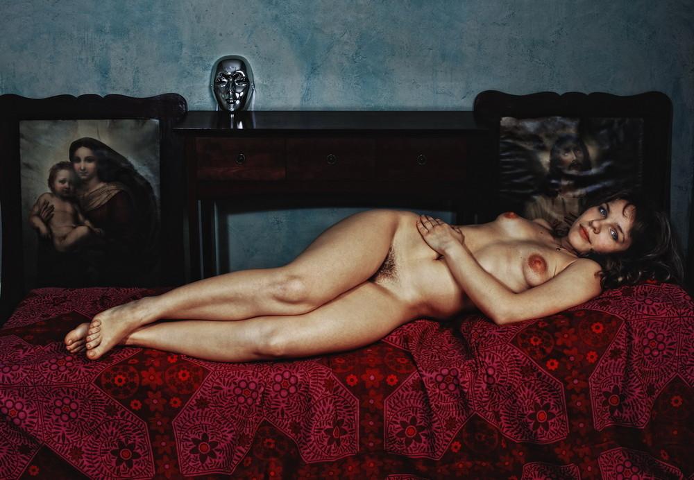 Sergei Mikhalkiv, akt kobiecy i portret