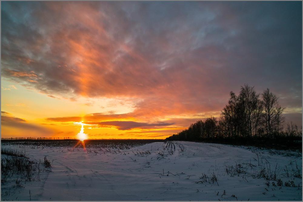 Прикольные, картинки раннего утра зимой