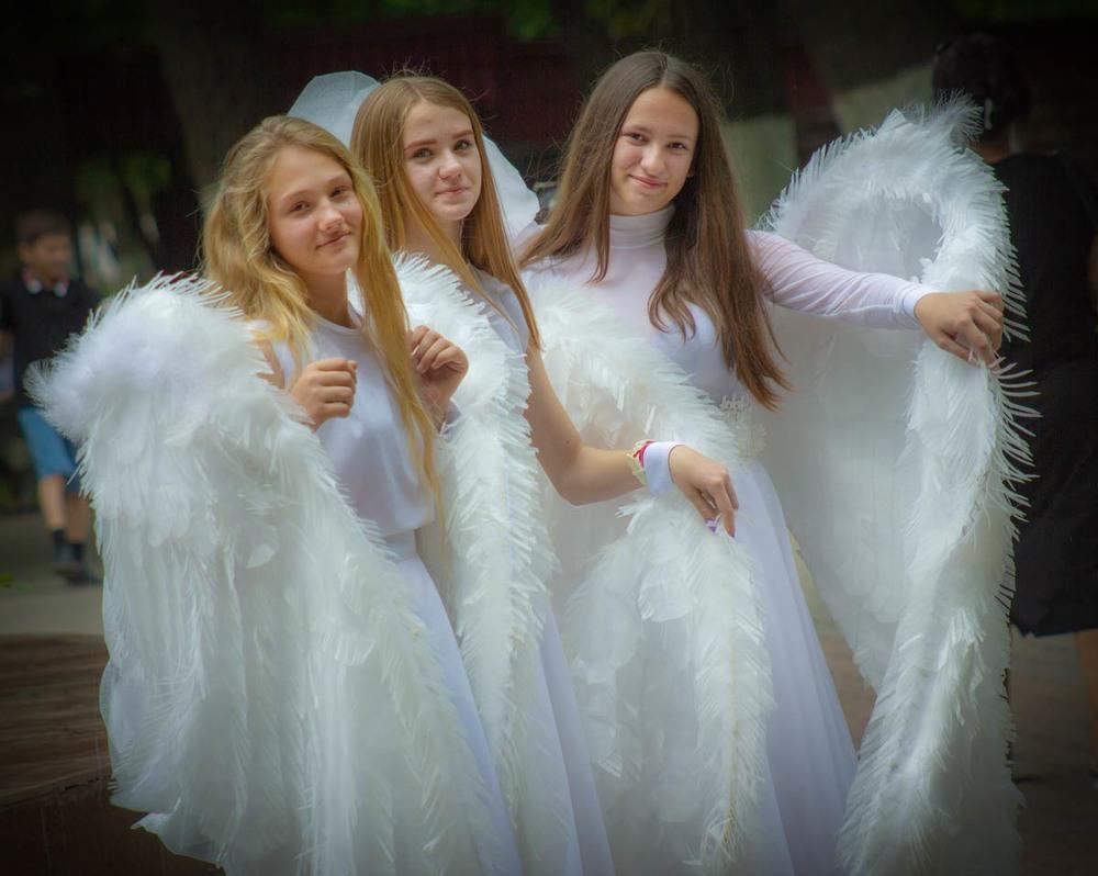 называется фото настоящего ангела примерке первым