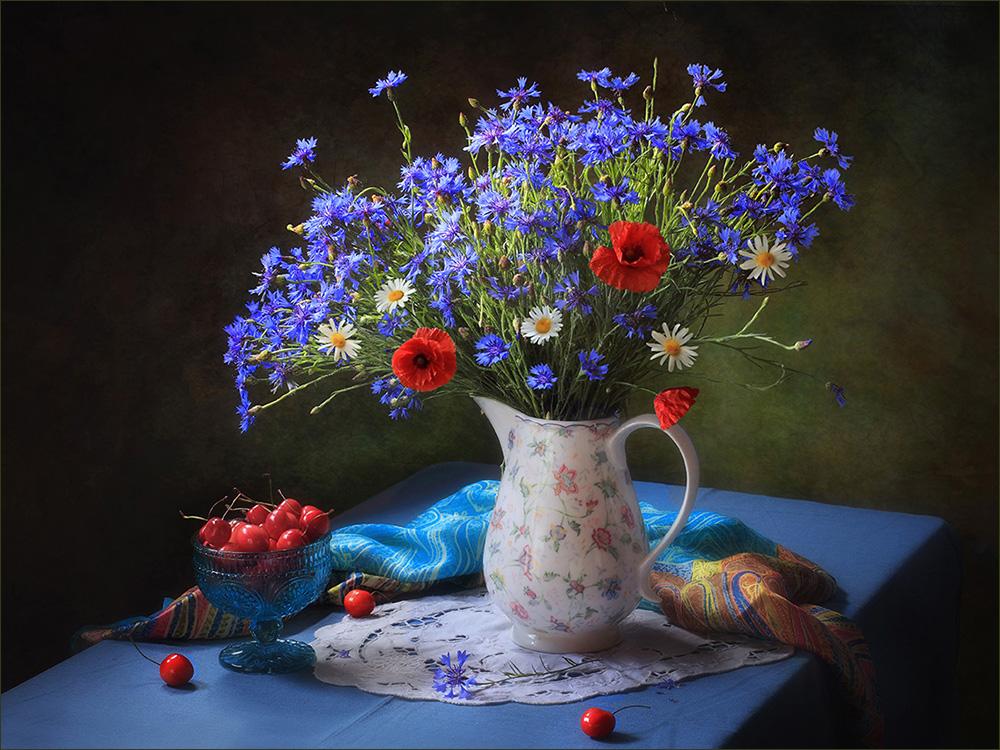 входят картинки с полевыми цветами и ягодами дадим обет расставаться