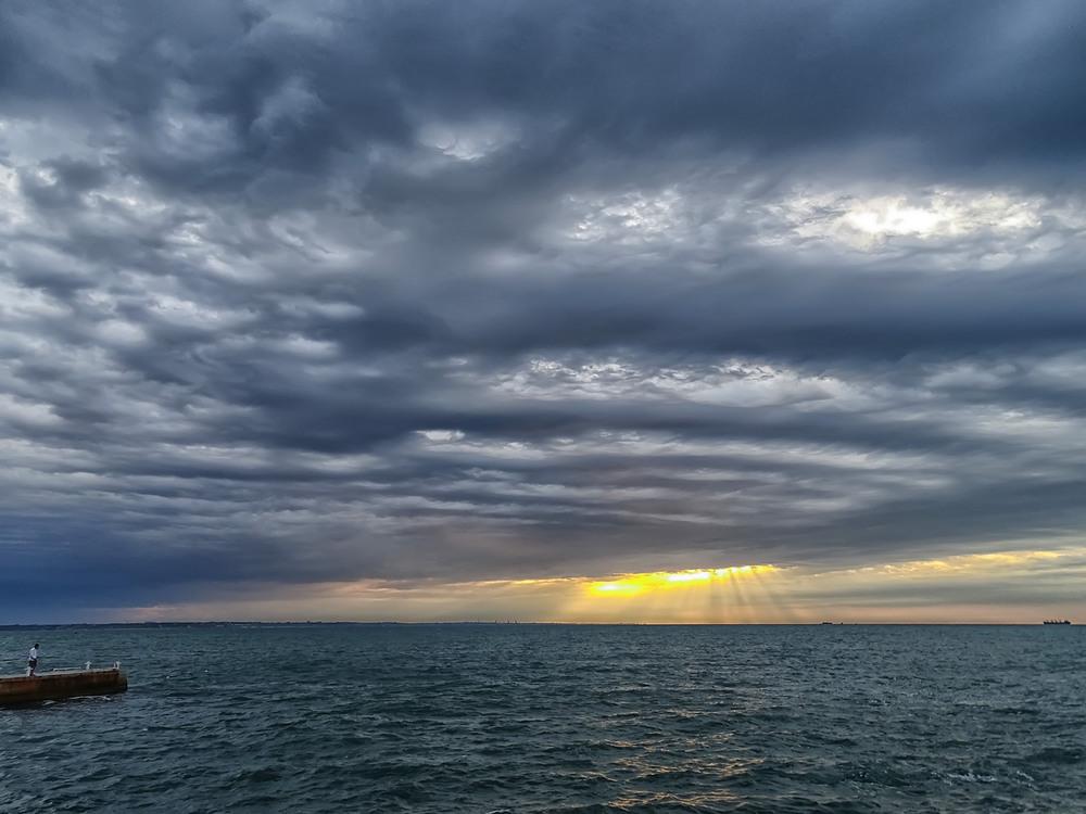 море с плохой погодой картинка этот раз