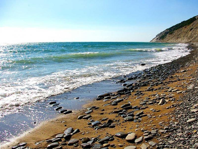 дикий пляж анапа фото