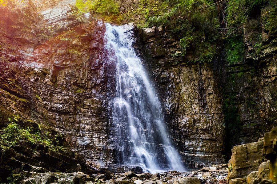 Картинки по запросу манявський водоспад