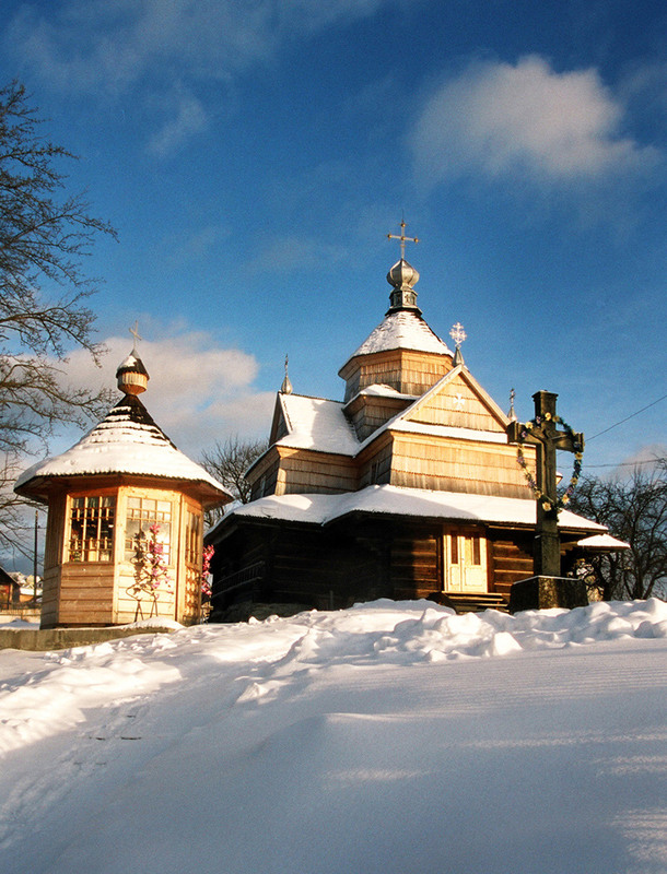 """Результат пошуку зображень за запитом """"ворохта церква різдва богородиці зима"""""""